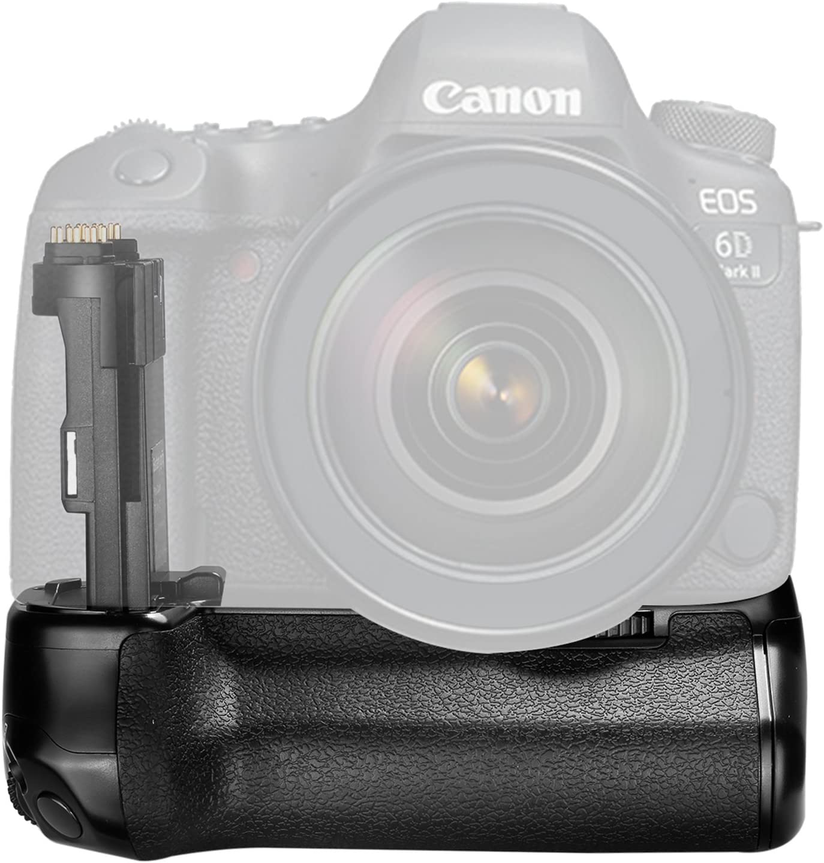 Mango de la batería para la cámara Canon 6D Mark II DSLR