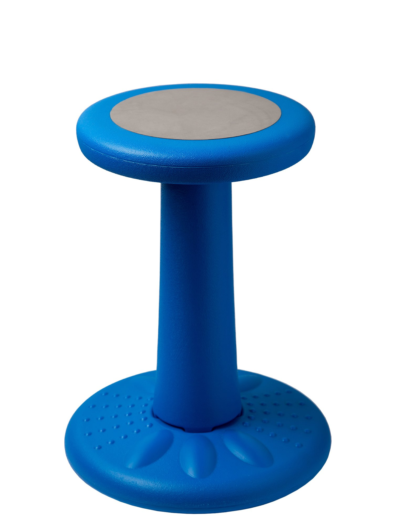 Active Kids Chair by Studico - Wobble Chairs Juniors/Pre-Teens (Grades 3-7) - Children Who Can't Sit Still - Great 17'' Wobble Chair Kids ADD/ADHD - Corrects Posture | Blue - Age Range 7-12y by Comfify