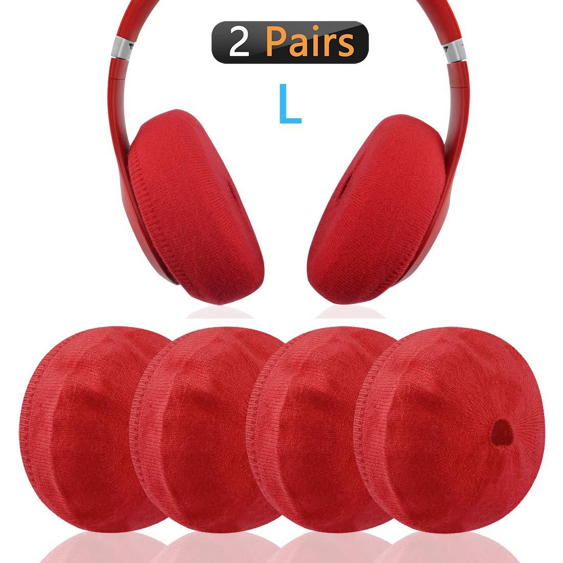 Cover Almohadillas Auriculares Beats Studio Studio 3, Rojo
