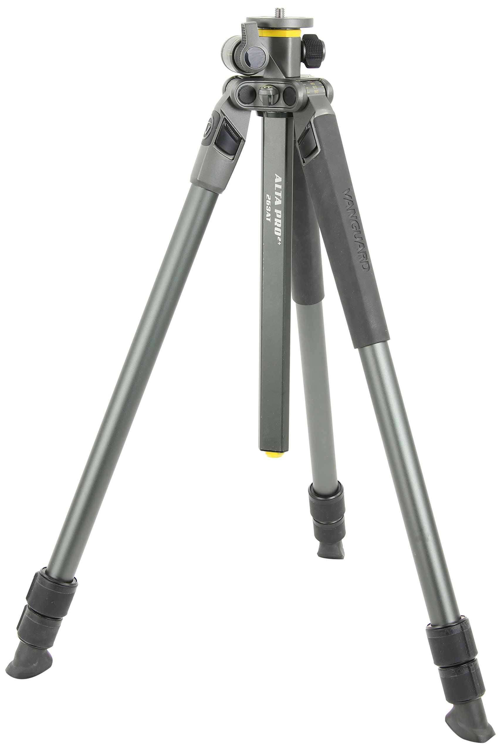 Vanguard Alta Pro 2+ 263AT Aluminum Tripod with Multi-Angle Center Column for Sony, Nikon, Canon DSLR Cameras by Vanguard