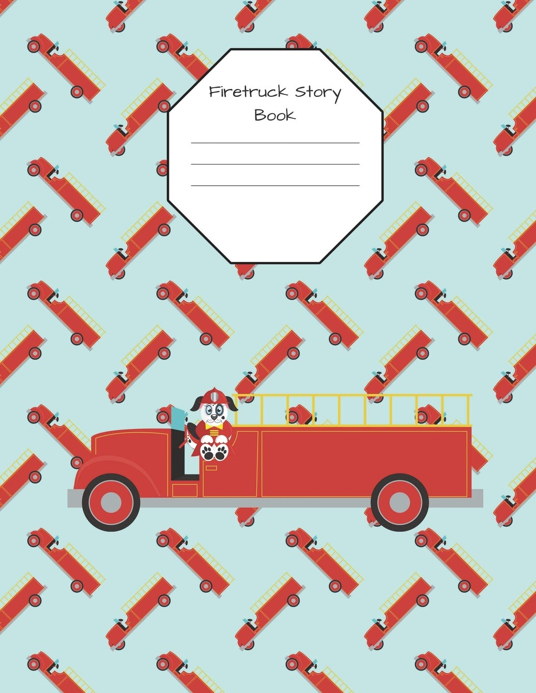 Read Online Firetruck Story Book Primary Journal Composition Notebook: 100 Pages 8.5 x 11 Draw and Write Early Childhood to K Grade Level K-2 Creative Picture PDF