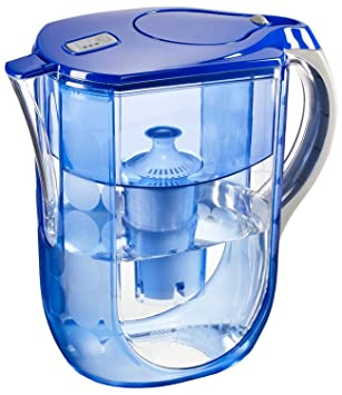 Brita Grand Water Filter Pitcher, Blue Bubbles, 10 Cup  Discontinued By  Manufacturer