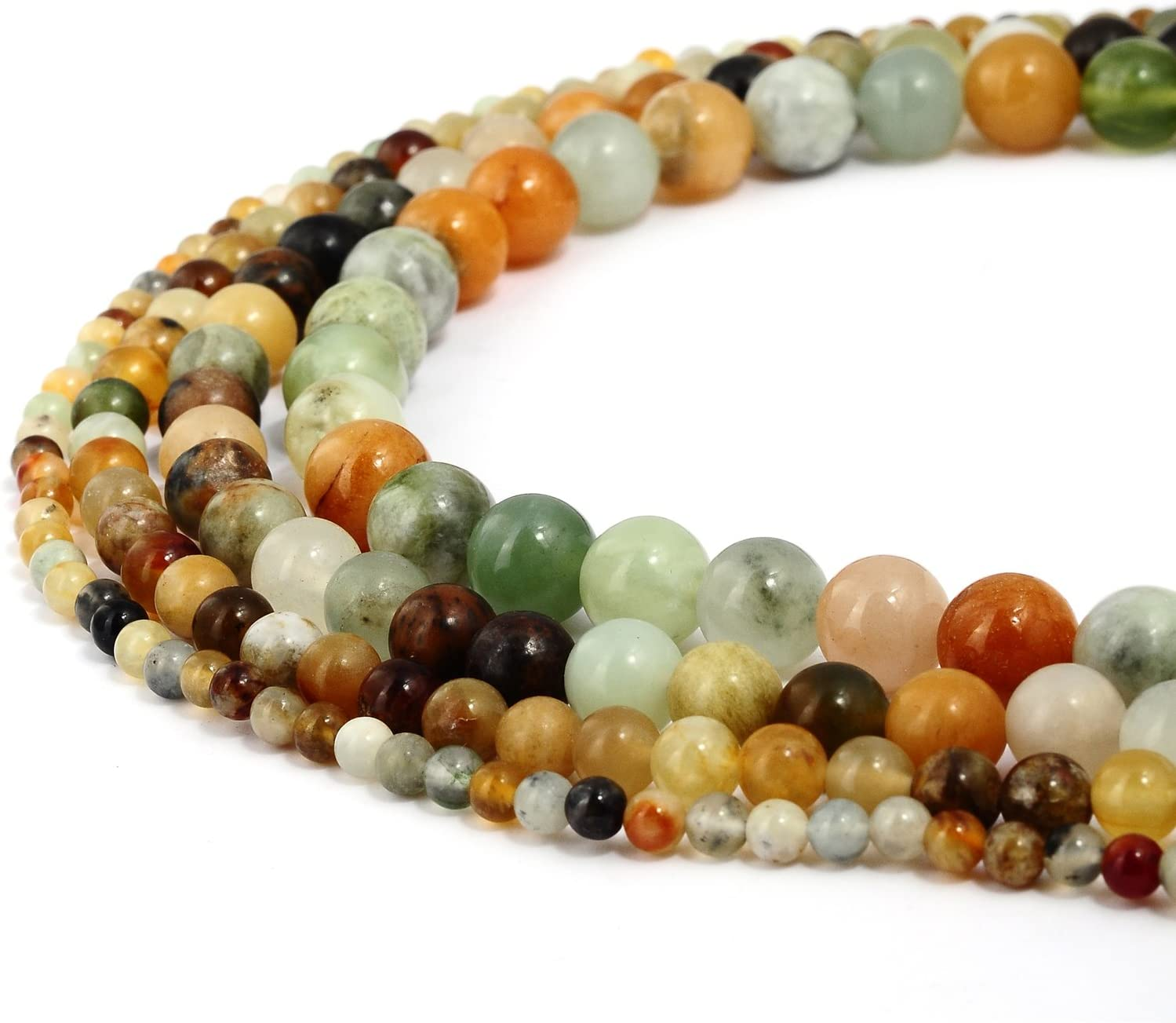 Pcs Dyed  Gemstones Jewellery Making Crafts Mashan Jade Round Beads 6mm Blue 60