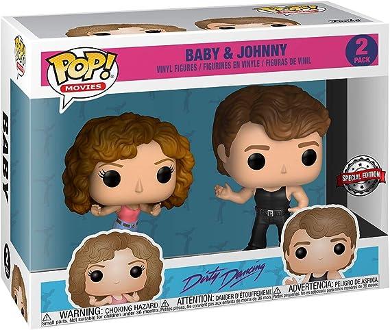 Pack Pop! Exclusive Dirty Dancing - Figura de Vinilo 2 Baby ...