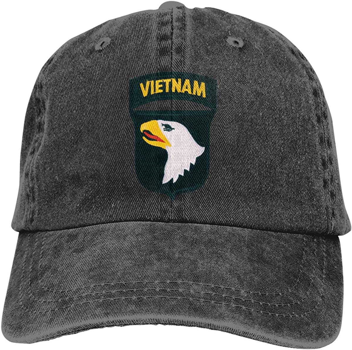 KERLANDER 101ST Airborne Division Vietnam Patch Embroidery Adjustable Washed Twill Baseball Cap Dad Hat