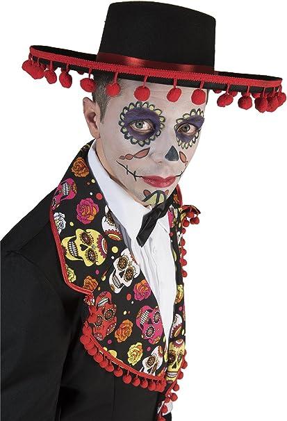 Generique - Disfraz Mexicano Romántico Hombre Día de los Muertos L ...