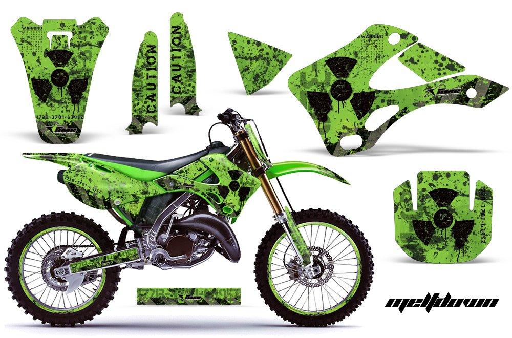 Amazoncom Kawasaki Kx125 Kx250 1999 2002 Mx Dirt Bike Graphic Kit