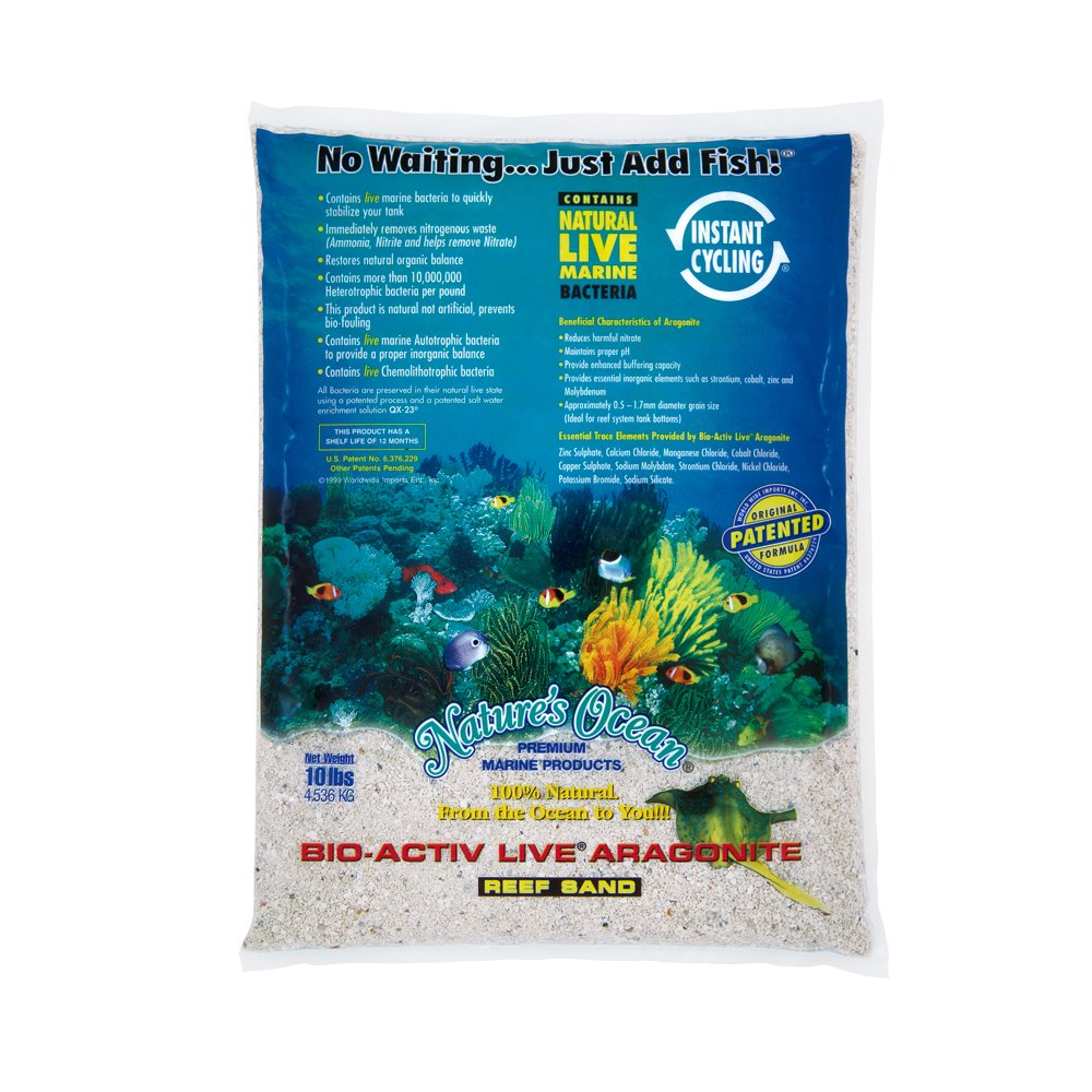 Worldwide Imports AWWA10701 Live Aragonite Sand, 20-Pound TopDawg Pet Supply 29616