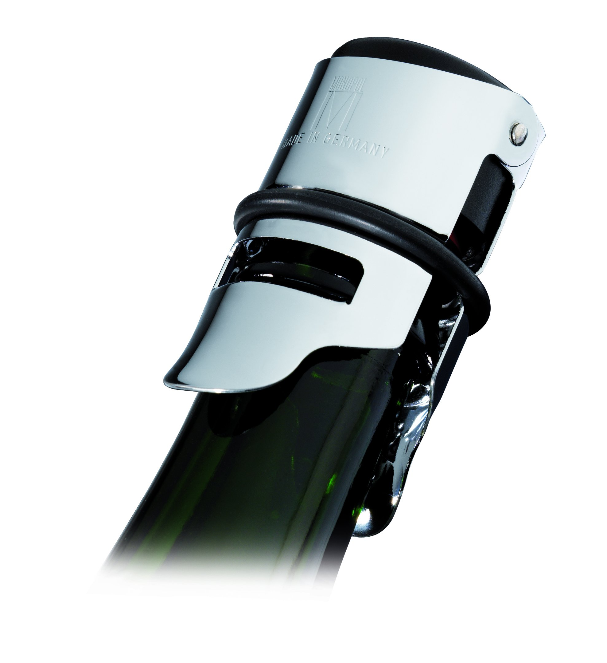 Westmark 6012556C Monopol Champagne Stopper Tightly Closing And Can Be Stored Horizontally, Silver by Westmark