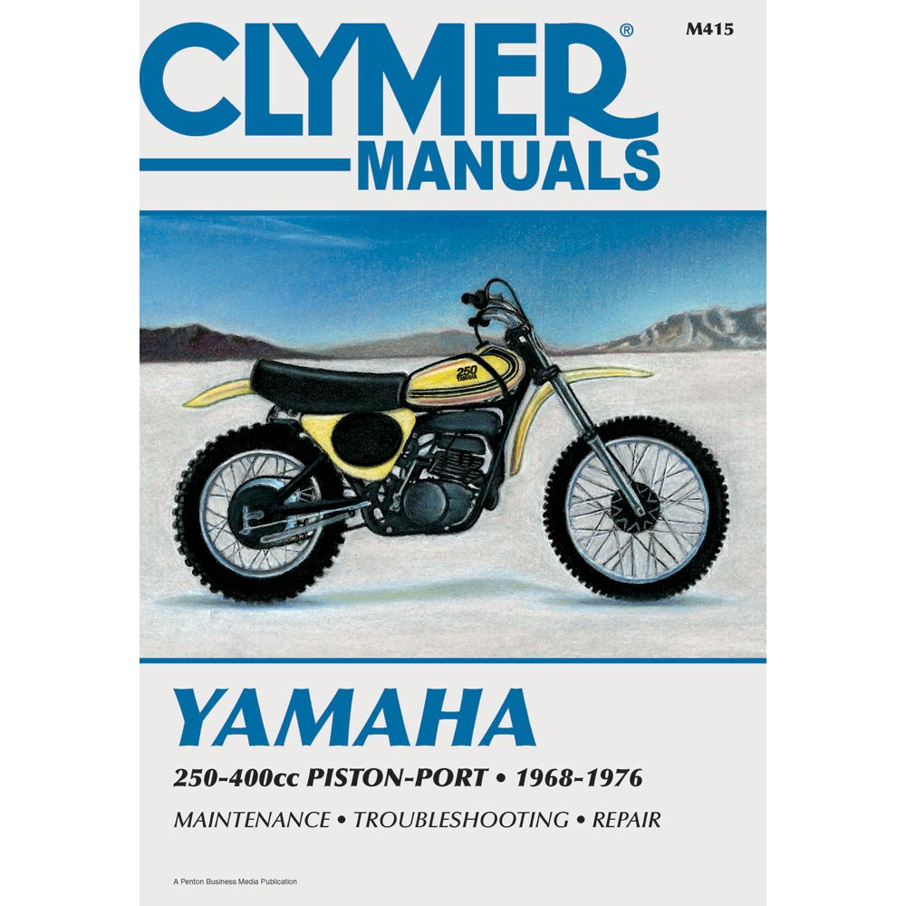Clymer Repair Manual For Yamaha 250 400 68 76 Automotive Dt400 Wiring Diagram