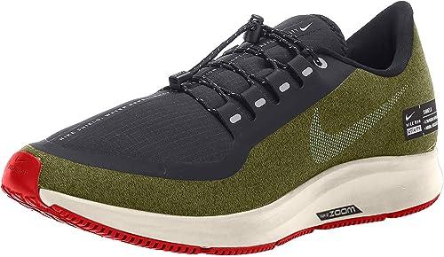 Entretener Injusticia Pocos  Buy Nike Mens Air Zoom Pegasus 35 Shield Running Shoes (15 M US,  Olive/Black/Silver) at Amazon.in