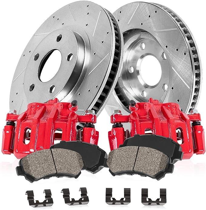 Power Stop K1860 Front Z23 Evolution 1-Click Brake Kit for Ford Ranger//Explorer