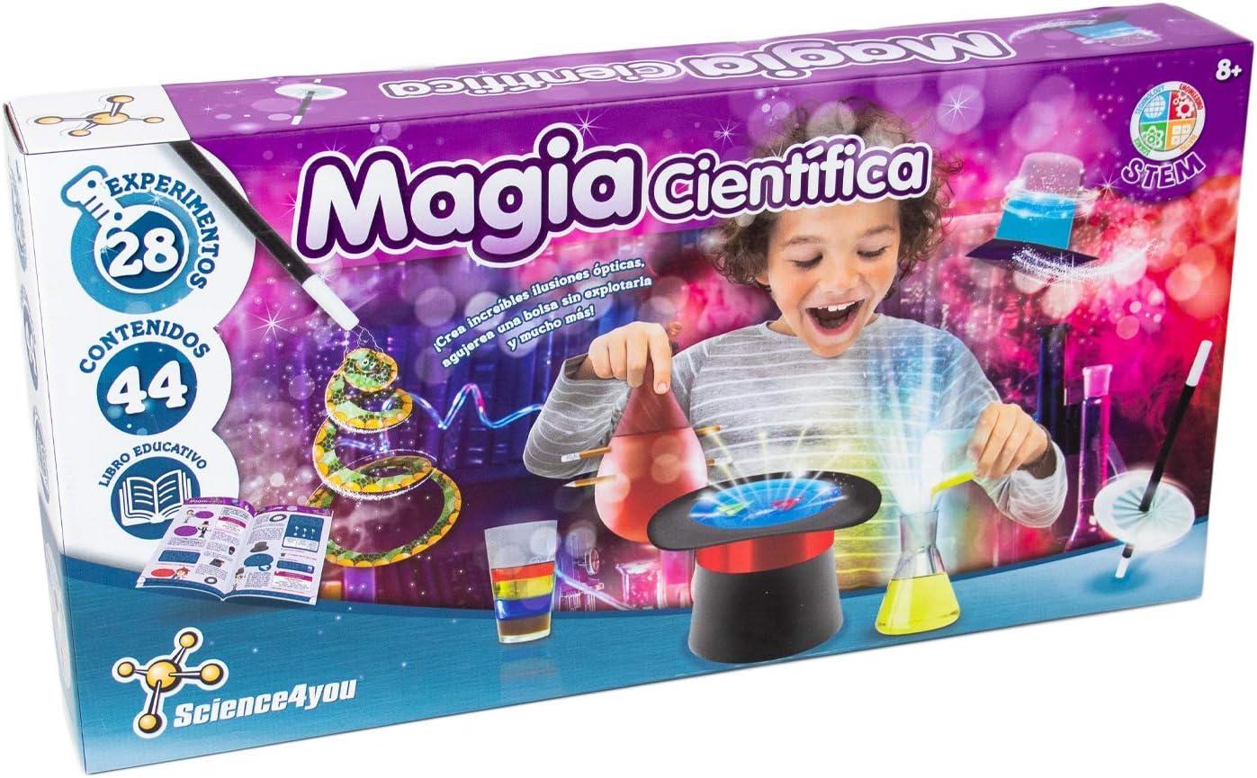 Science4you-5600983615120 Magia Cientifica para Niños +8 Años ...