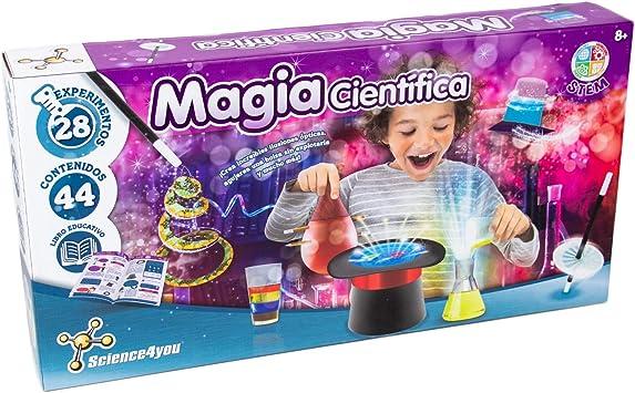 Science4you-5600983615120 Magia Cientifica para Niños +8 Años, Multicolor (80002191): Amazon.es: Juguetes y juegos