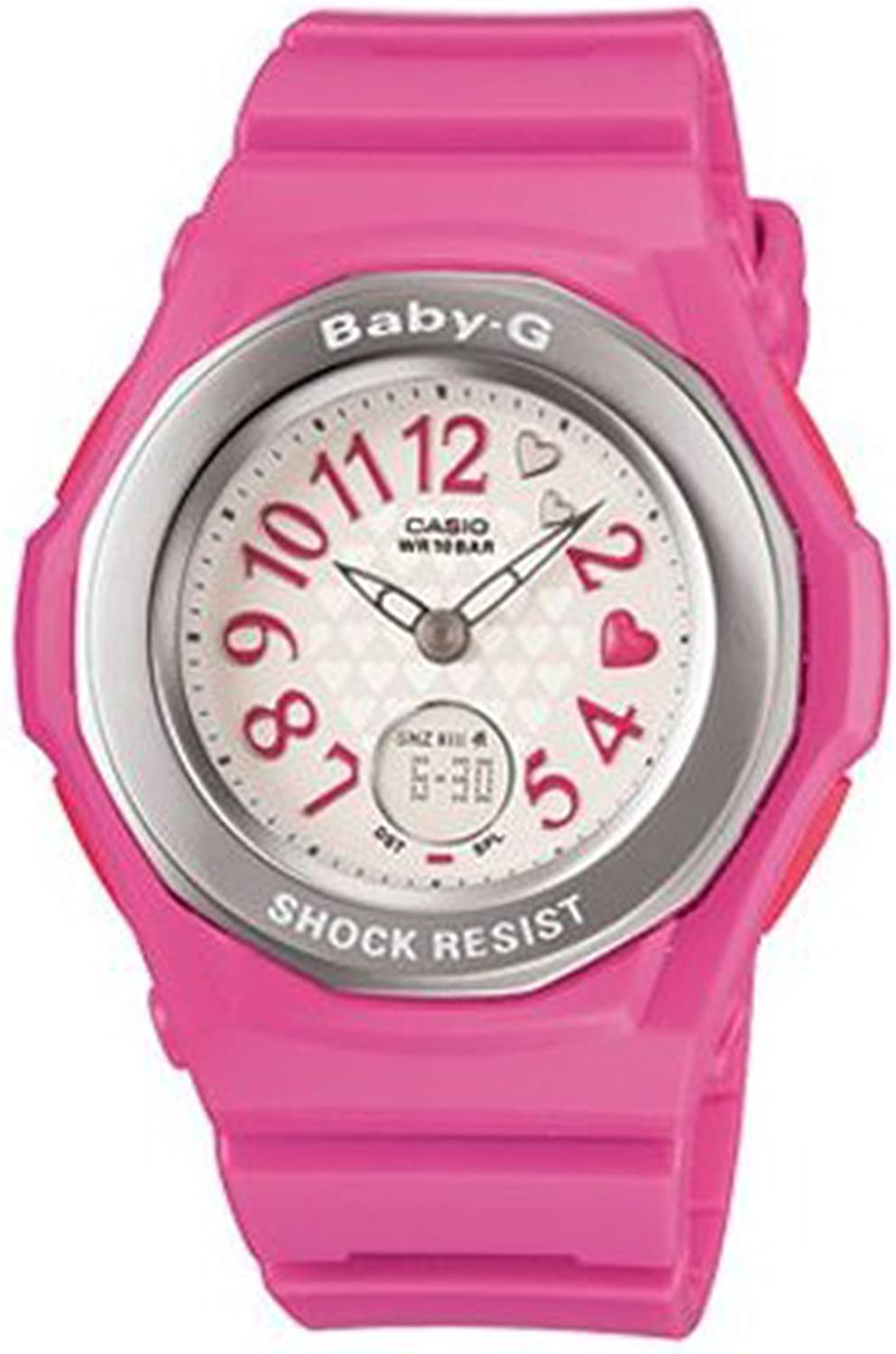Baby-G Ladies Watch Baby-G Nail Art BGA-105-4BDR – WW