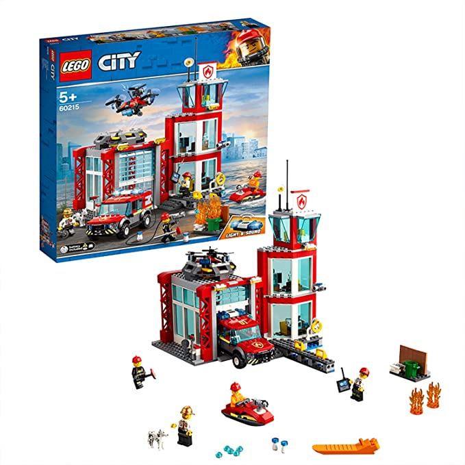 LEGO City – Parque de Bomberos – 60215
