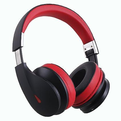 Ausdom AH2 Auriculares Bluetooth 4.0 EDR con micrófono, Batería Recargable de Litio de 400 mAh