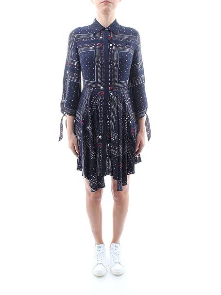 Tommy Hilfiger WW0WW21469 Vestidos Mujer Azul 8