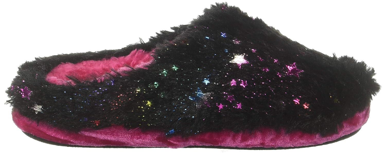 Dearfoams Kids Star Pile Clog Slipper 26006