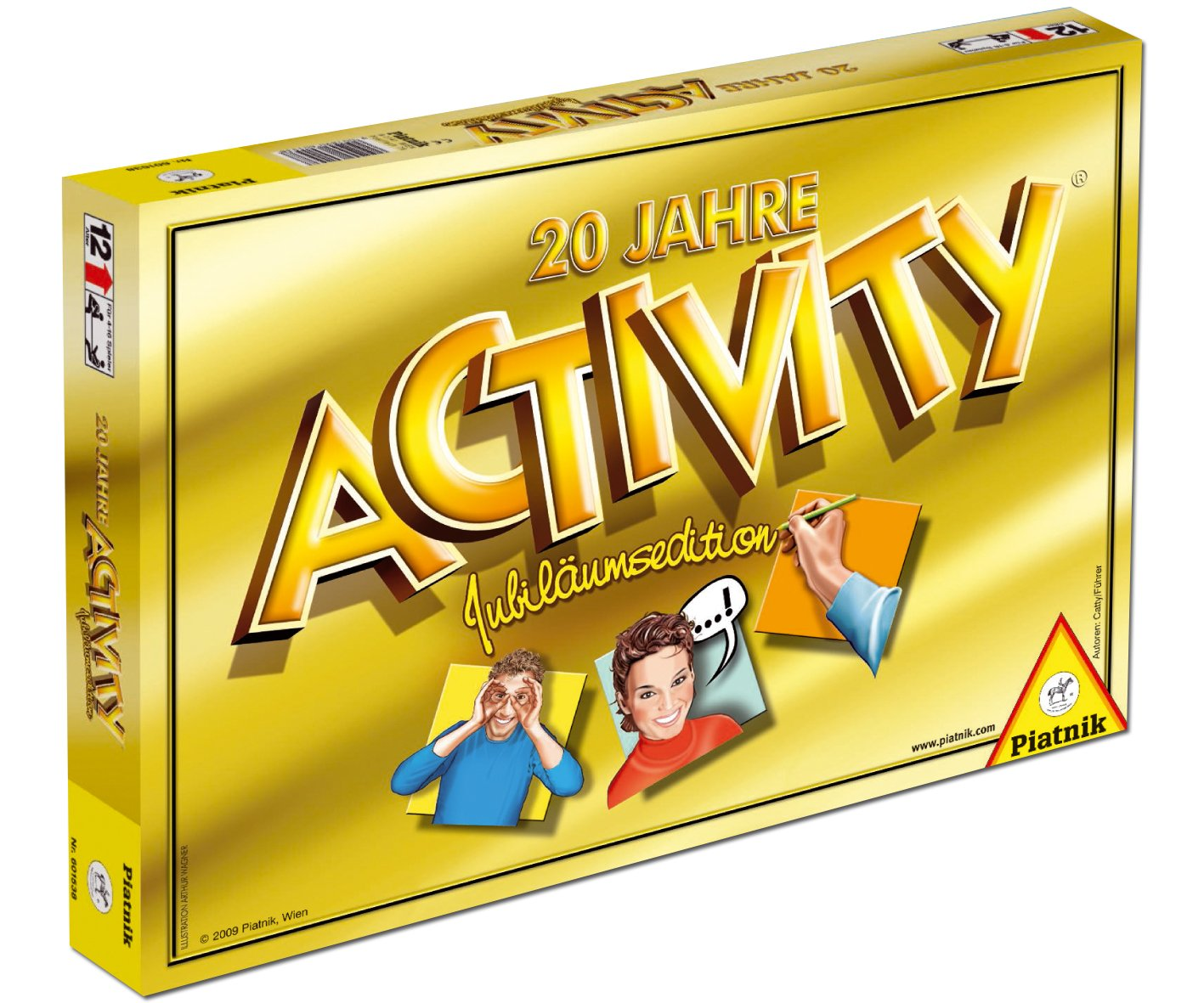 Piatnik 601538 - Jahre 20 Jahre - Activity e9f7ec