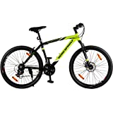 "Hero Octane Endeavour 26T 21 Speed Adult Bicycle - Green & Black(18"" Frame)"