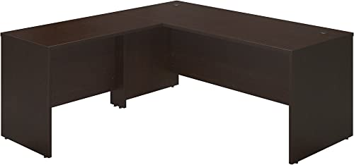 Bush Business Furniture Series C Elite 72 by 30 Desk Shell with 42 Return, Mocha Cherry