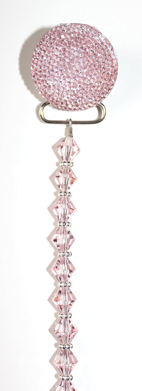 Amazon.com: Crystal Dream Luxury Pink Crystal y abalorio de ...