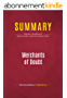 Summary: Merchants of Doubt: Review and Analysis of Naomi Oreskes and Erik Conway's Book (English Edition)