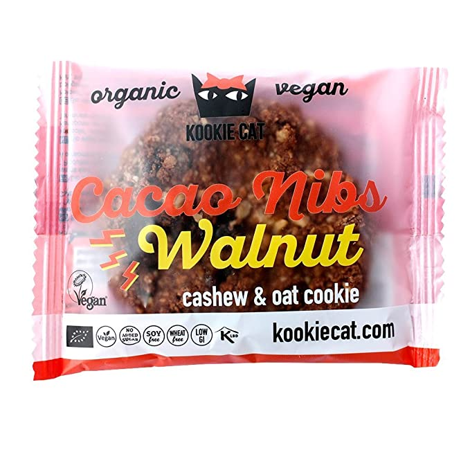 Kookie Cat - Vegan cookie de nueces - 8114-50gr-KookieCat: Amazon ...