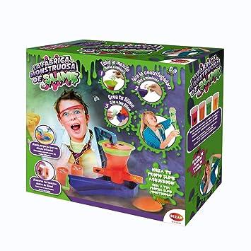 Mundo Monstruos Fábrica Slime, única (Bizak 63317005): Amazon.es: Juguetes y juegos