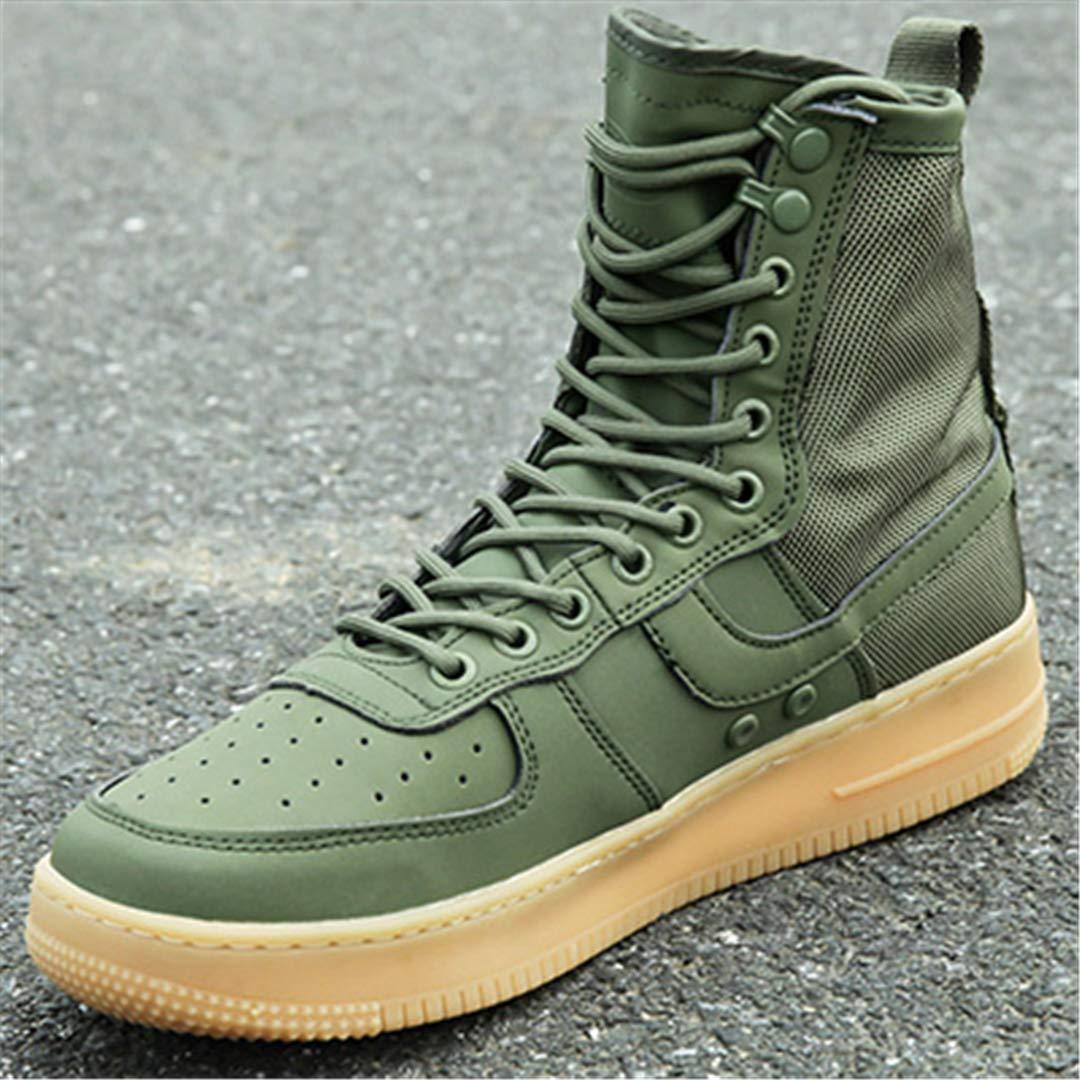 bd56225f0f76d Amazon.com : Outdoor Hiking Shoes Tactical Boots Military Combat Men ...