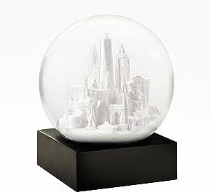 CoolSnowGlobes New York City White Cool Snow Globe