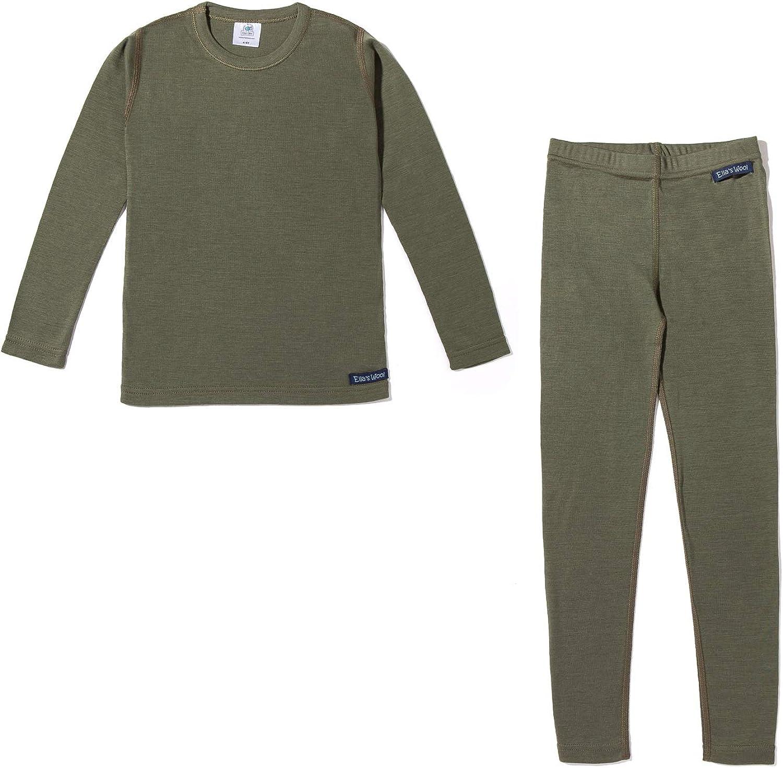 Ella's Wool Merino Wool Base Layer Set