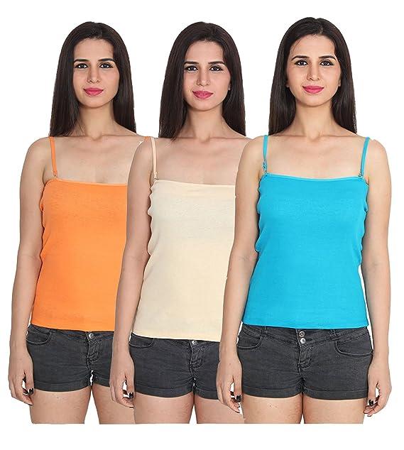 199f080925c0a Beauty Plus Women Camisole Sleeveless Vest Slim Crop Top Spaghetti Strap  Camis Cotton Tube Bodysuit Adjustable