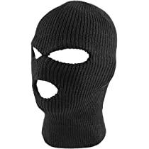 9d19be2d889 DECKY Face Mask 1 Hole Beanie  Super Z Outlet Knit Sew Outdoor Full Face  Cover Thermal Ski Mask ...