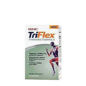 GNC TriFlex Turmeric Formula, 60 Caplets, Supports Joint Health