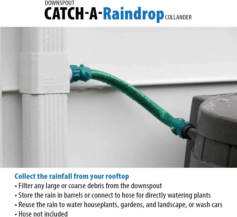 Downpipe Filter Rain Water Diverter Garden Irrigation Gutter Guard Downpipe Leaf Guard Rainwater Collector Rainwater Harvesting Down Pipe Filter Guard T33