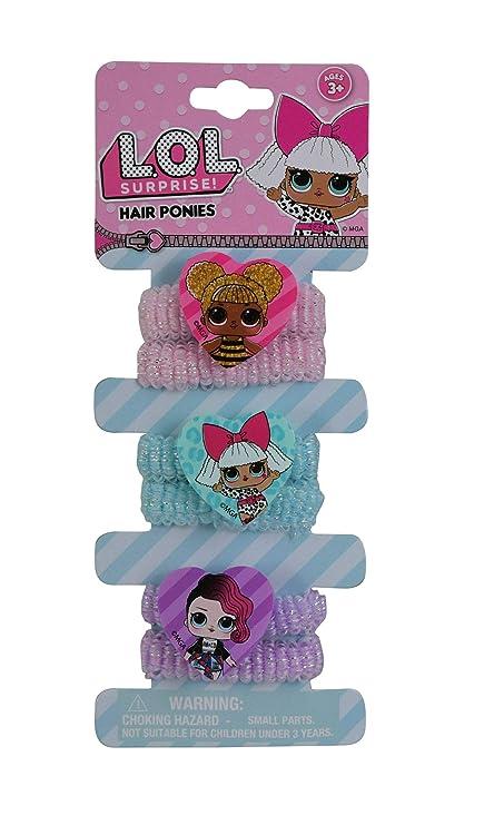 Amazon.com: UPD LOL! Terry Ponies 6pk en tarjeta con 3 ...