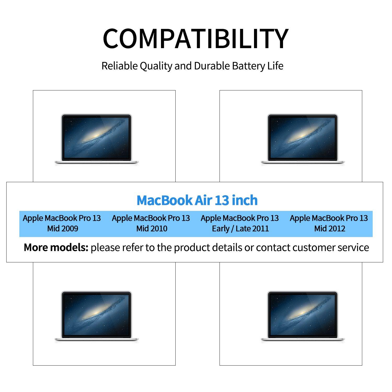 Laptop Battery A1322 For Apple Macbook Pro 13 Inch A1278 Baterai Original Inchi 2009 2010 2011 2012 Version Fit Mb990 Mb991 Mc374 Mc375 Mc700 Mc724 Md101 Md102