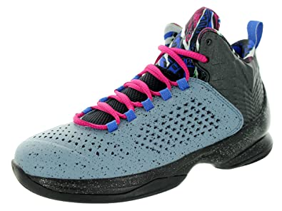Cheap New Style Jordan Kids Jordan Melo M11 Bg Basketball Shoes Cheap - Bl Grpht/Mtllc Slvr/Blck/Frbrr