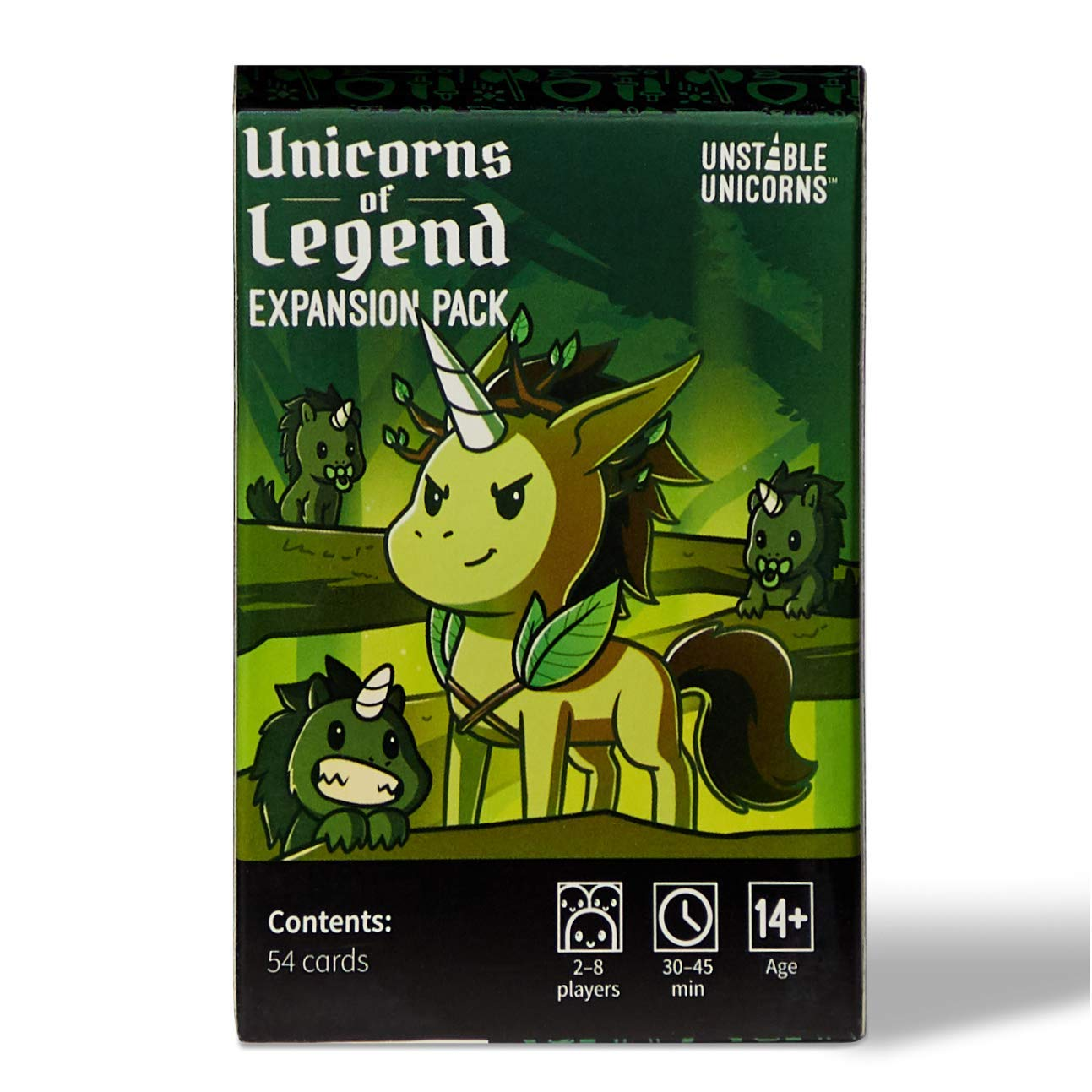 Unstable Unicorns Unicorns of Legend Expansion Pack - designed to be added to your Unstable Unicorns Card Game
