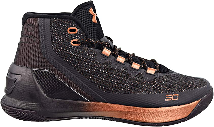Under Armour Mens Curry 3 Basketball Shoes Black 1298308