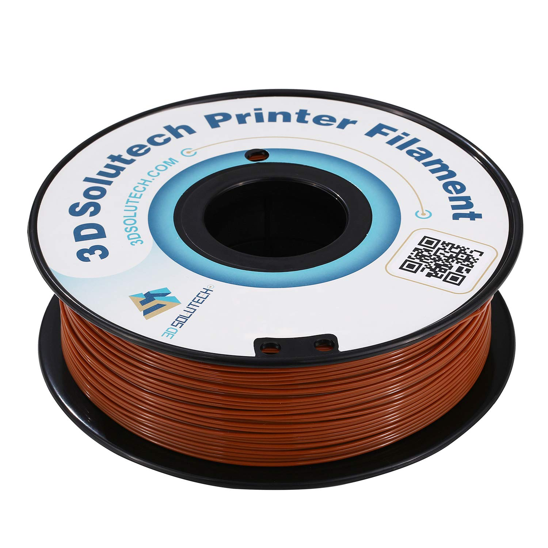 Filamento PLA para impresora 3D Solutech 3D marrón chocolate 1,75 ...