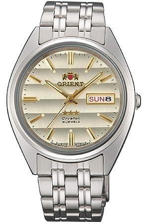 Orient Reloj Analógico para Mujer de Automático con Correa en Acero Inoxidable FAB0000DC9: Amazon.es: Relojes
