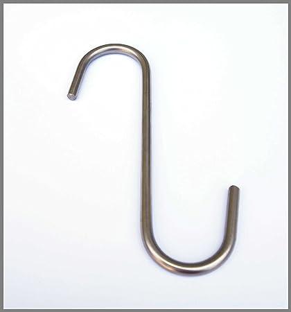 10 pieza S Ganchos de acero inoxidable 6,0 x 140 mm ...