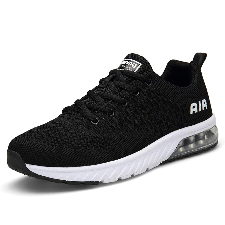 Mishansha Mens Womens Breathable Athletic Running Shoes Air Cushion Walking Training Jogging Gym Fashion Sneakers