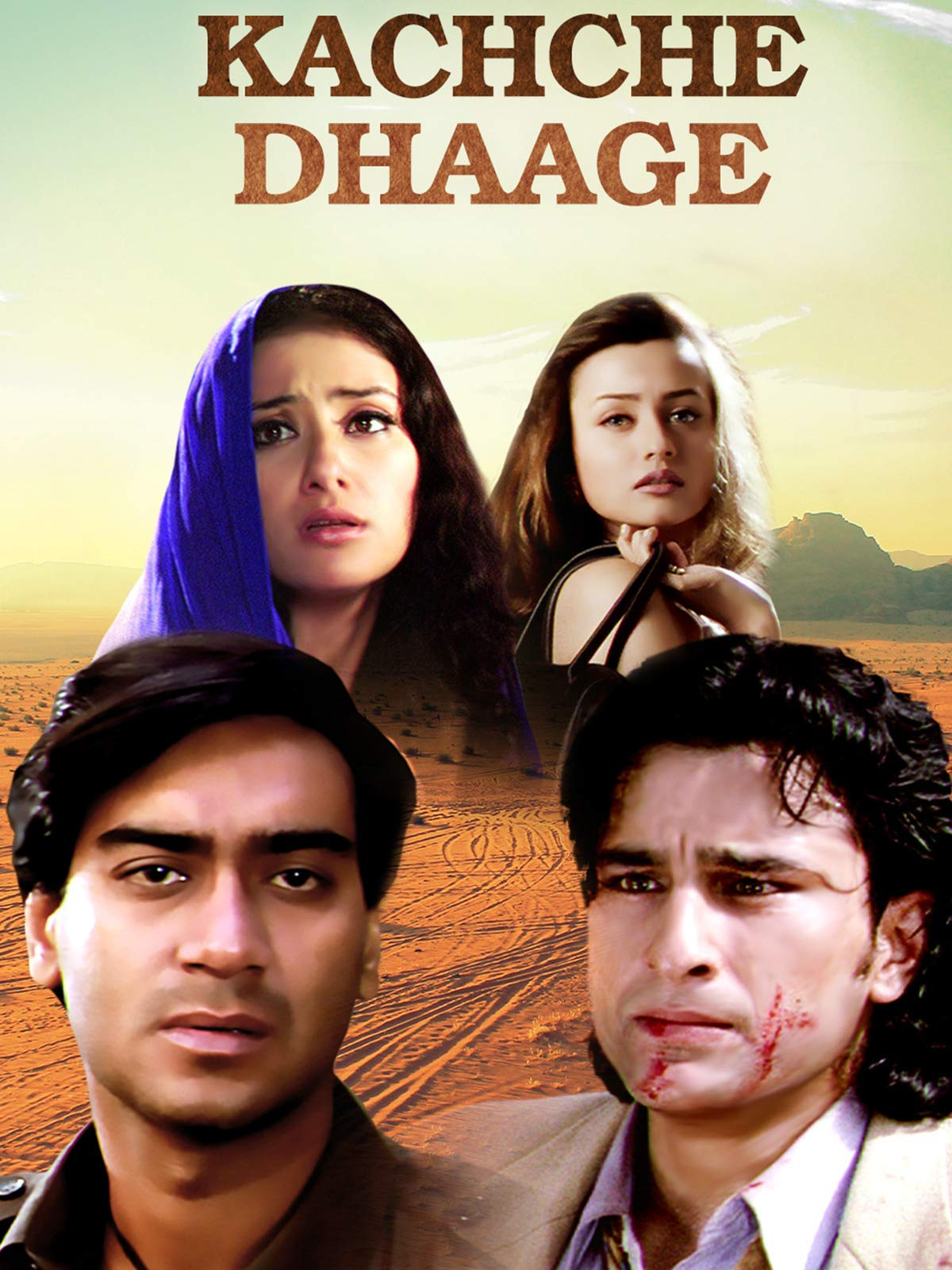 Kachche Dhaage (1999) Box Office Collection India Overseas