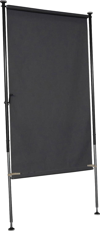 Angerer Balkon Sichtschutz Style anthrazit, 120 cm breit, 2316 262