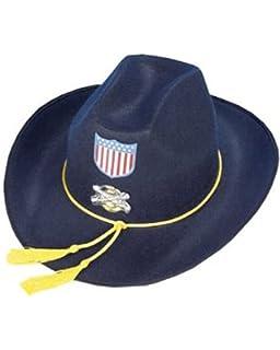 Yankee Hut Nordstaaten General Filzhut US Soldat Nordstaatler Western Offizier