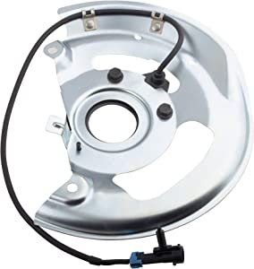 BOXI Front Left ABS Wheel Speed Sensor & Dust Shield for 95-98 Chevrolet Blazer /95-03 Chevy S10 GMC Sonoma /91-94 Chevy S10 Blazer /92-97 GMC Jimmy /1991 GMC S15 Jimmy (ONLY for RWD) SU12039 970-097